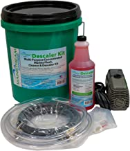 Mainstream Marine Descaler Kit | Descaler Kit with Descaling Solution, Mixing Bucket, Hoses and Circulation Pump