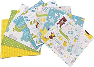 Riley Blake Sweet Baby Boy Fabric Pack - 40 Squares - DIE Cut - Quilt Charm Pack - Charm Pack for Quilting - Quilting Fabrics - Baby Fabric