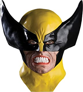 Men's Marvel Universe Adult Wolverine Latex Mask, Multi, One Size