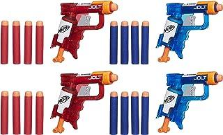 Lança Dardo Nerf Sonic Fire E Ice Jolt Pack Nerf Lança Dardo Nerf Sonic Fire E Ice Jolt Pack Vermelho/azul