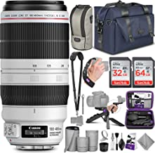 Canon EF 100-400mm f/4.5-5.6L is II USM Lens with Altura Photo Complete Accessory and Travel Bundle