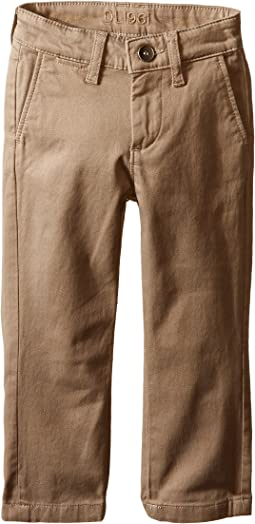DL1961 Kids Timmy Slim Chino in Cannon (Toddler/Little Kids/Big Kids)