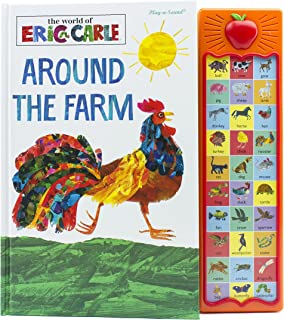 Carle, E: Eric Carle - Around the Farm (Apple Play a Sound Book)