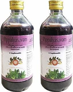 The Arya Vaidya Pharmacy Pippalyasavam - 450ml (Pack of 2)