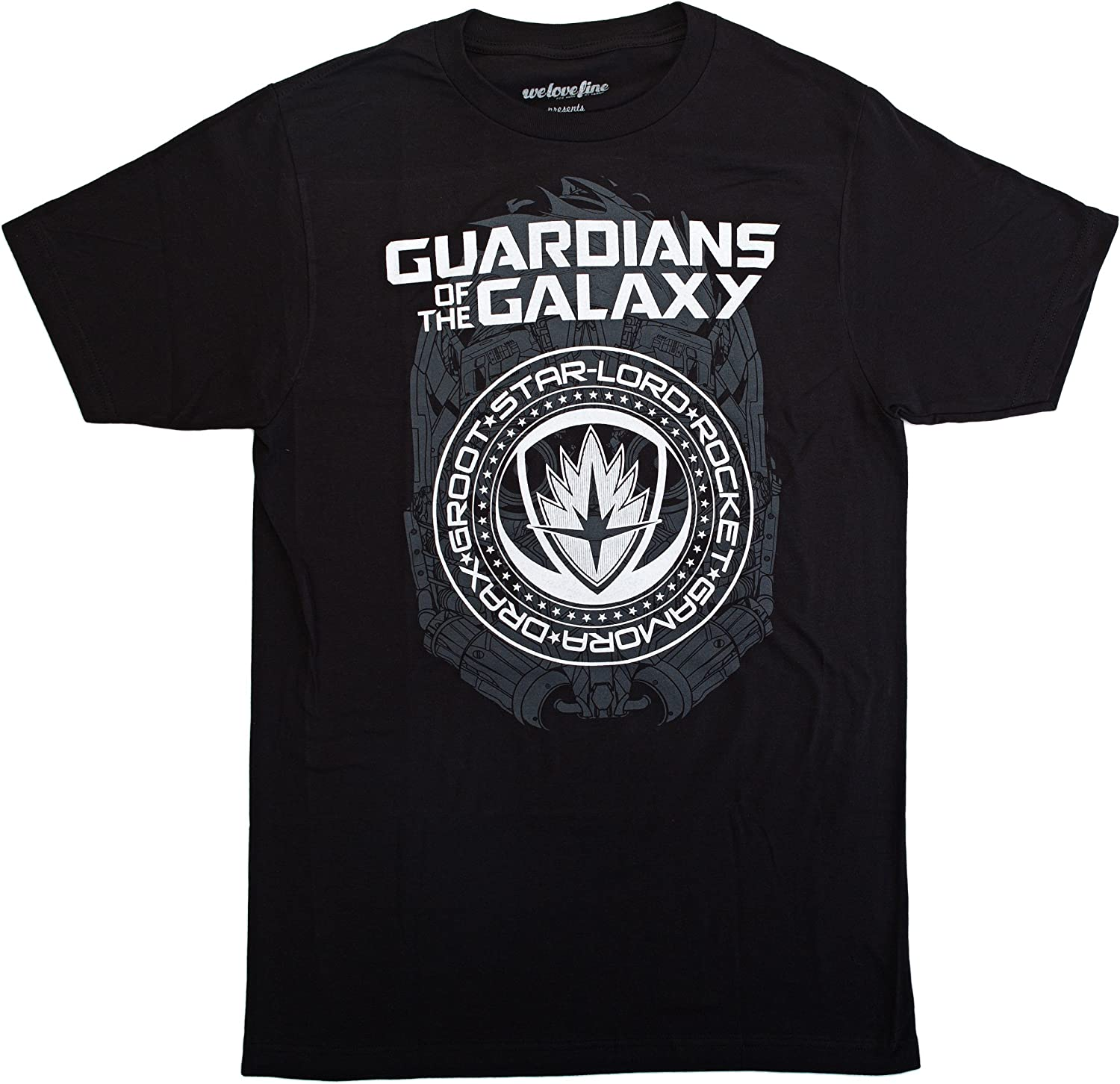 Marvel Guardians of the Galaxy 2 Crest Graphic TShirt