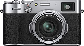 Fujifilm X100V Mirrorless Digital Camera, Silver