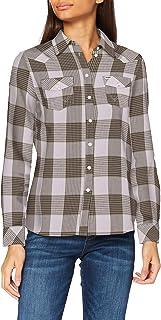 Wrangler Women's Slim Regular Western Shirt