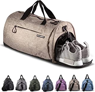 Fitgriff® Sporttasche für Damen und Herren - mit Schuhfach & Nassfach - Tasche für Sport & Fitness - Gym Bag, Trainingstas...