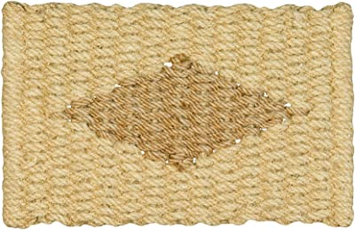 Jute & Co. Jute Rope Door Mat, Colour-Off White, One Size