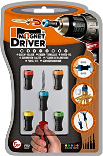 Magnet Driver Screw-Holder by Micaton | Magnetic Screwdriver Attachment | Fits..