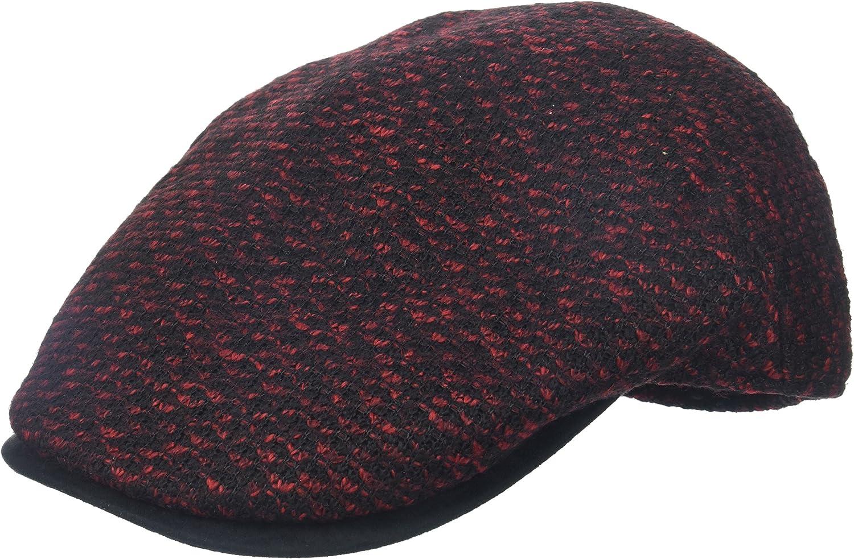 Henschel Men's Ivy Hat Multi-Colored Knit with Suede Visor