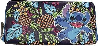 Disney Lilo And Stitch Stitch Tropical Zip Around Wallet