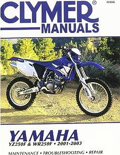 Manual de serviço Clymer para 01-03 Yamaha YZ250F