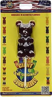 Giant Gummy Bear On A Stick - Cherry Cola