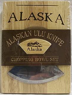 Ulu Knife with Small Chopping Bowl (1)