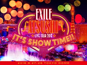 "EXILE ATSUSHI LIVE TOUR 2016 ""IT'S SHOW TIME!!""(3Blu-ray)(豪華盤)(スマプラ対応)"