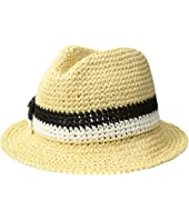 Kate Spade New York - Crochet Bicolor Bow Trilby