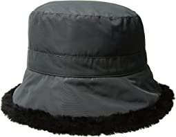 Packable Cloche w/ Faux Fur