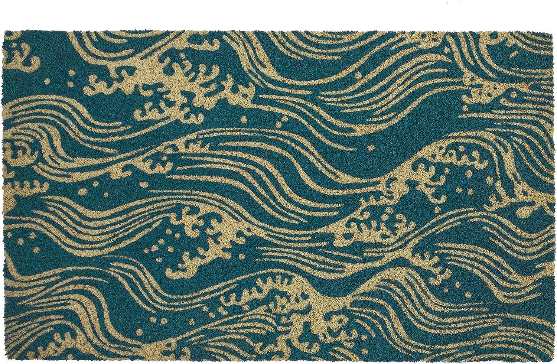 Entryways Victoria and Albert Museum Doormat Coir マーケット inch 18 Waves 超定番