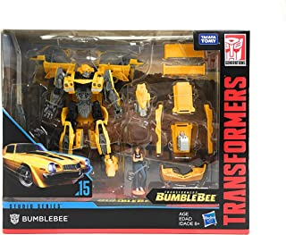 """Transformers Bumblebee Deluxe Class Autobot 4.5"""" Figure - Studio Series - Kids Toys - Ages 8+"""