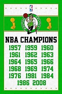 Trends International Boston Celtics Champions Wall Poster 22.375