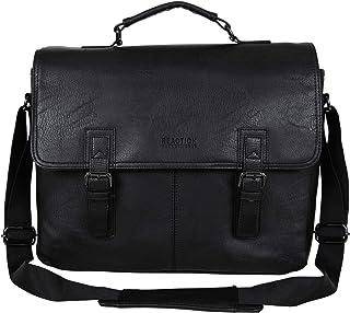 "Kenneth Cole Reaction Modern Dilemma Pebbled Faux Leather Laptop & Tablet Business Case Travel Bag, 15"" Laptop Portfolio"