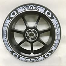 District Scooters ディストリクトスクーター Dual Width Core Wheel 110mm x 28mm【ウィール】【パーツ】 (White)