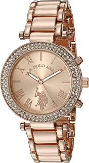69c5045934c U.S. Polo Assn. Women s Quartz Rose Gold-Toned Dress Watch (Model  USC40170