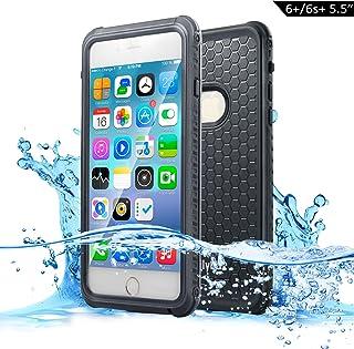 88404e0d105 Dailylux Funda Impermeable iPhone 6s Plus Funda para iPhone 6 Plus  Protectora IP68 Certificado con Touch