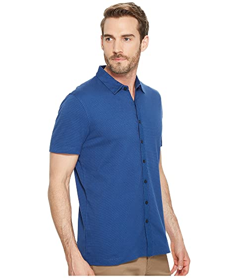 Sleeve Shirt Ellis Solid Stretch Perry Jacquard Short BpaCwxq