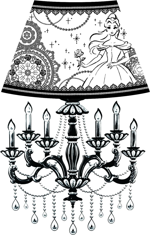 Disney Wall lamp sticker Bell