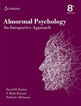 Abnormal Psychology : An Integrative Approach, 8th edition
