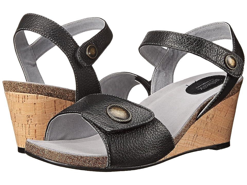 SoftWalk Jordan (Black Soft Tumbled Leather) Women