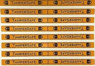 "500 Neon Tamper Evident Food Seals Security Labels Size 4"" x 0.25"""