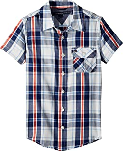 Tommy Hilfiger Kids Short Sleeve Hong Shirt (Toddler/Little Kids)