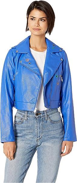 PU Moto Jacket
