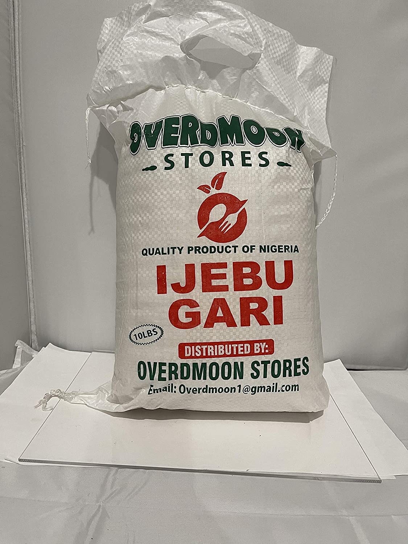 Gari Ijebu White 55% OFF Well Fixed price for sale Fermented 10 bag lb -