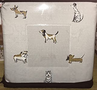 Cynthia Rowley DOGS Sheet Set - QUEEN SIZE - Poodles, Hounds, Terriers, Dalmatians, Bulldogs