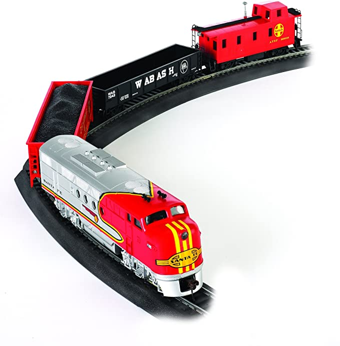 Bachmann Trains - Santa Fe Flyer Ready To Run Electric Train Set