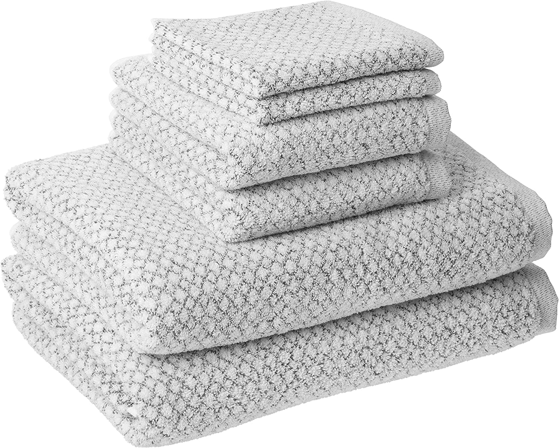 Everplush Chip Dye 6 Piece Max 55% OFF Set Towel Marble Bath Finally popular brand