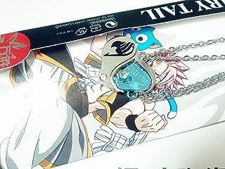 Fairy Tail Aluckyday Anime Cosplay Couple Necklace Pendant Heart Figure Design