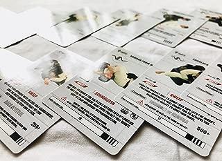 White Belt Curriculum Cards 13-23