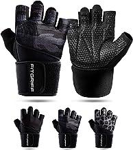 Fitgriff® Fitness Handschoenen V2 - Anti Slip Dumbbell Gloves - Heren en Dames - voor Sport, Gym, Gewichten, Bescherming, ...