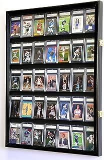 35 کارت ورزشی درجه بندی / کارت هدیه نمایش کیف مورد دیوار کابینه w / 98٪ درب فلزی، قابل قفل