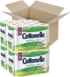 Cottonelle Ultra GentleCare Toilet Paper, Sensitive Bath Tissue, 48 Double Rolls