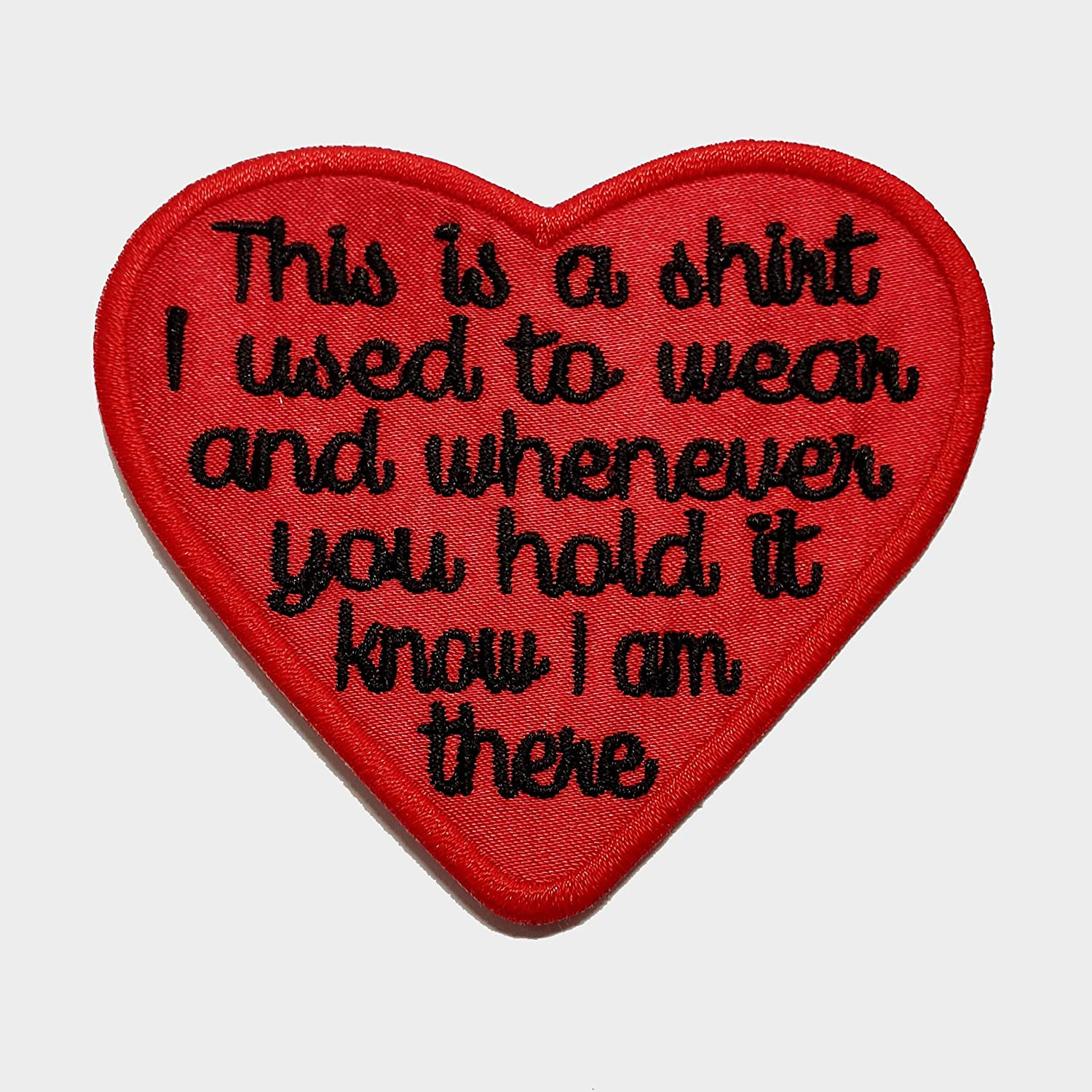 Memory Patch This is a Cheap mail order shopping shirt I wear Iron Heart Red used Milwaukee Mall to Satin
