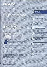 Best sony cyber shot dsc t30 manual Reviews