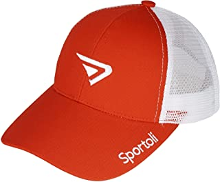 Sportoli Adult and Kids Cotton Blend and Mesh Snapback Trucker Baseball Cap Hat
