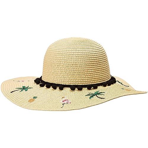 cca6f7a83fb225 Betsey Johnson Womens Flamingo Floppy Hat
