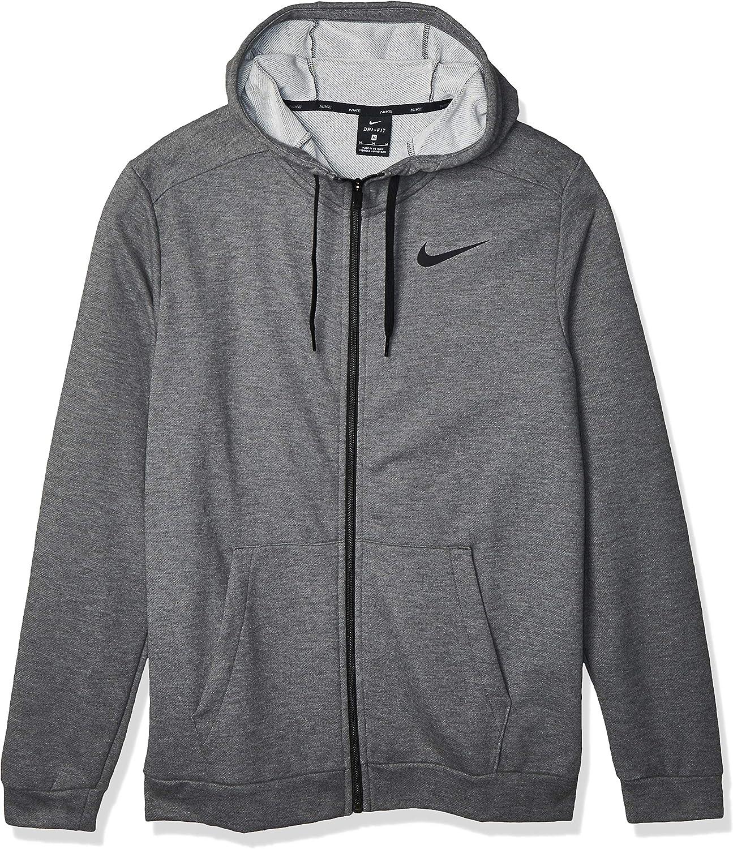 Nike Men's Dri-Fit Full-Zip Performance Training Hoodie